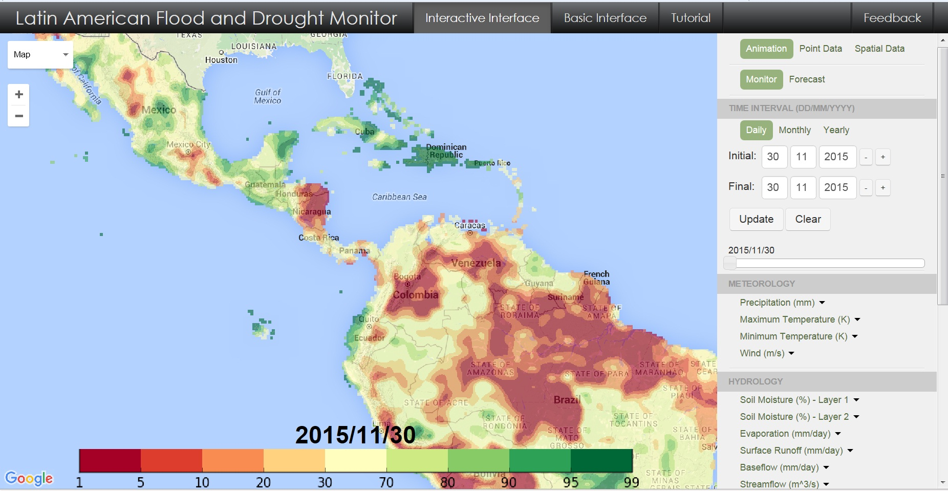 LAC Drought Monitor